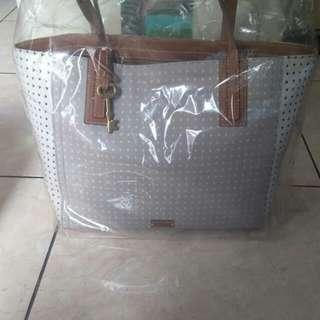Tote Fossil grey