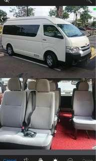 13 seater transportation services