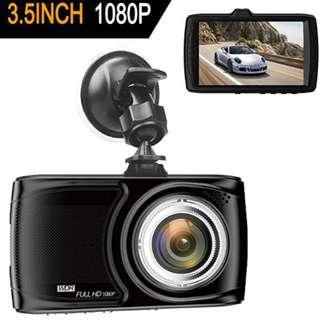 "P8 Dash Cam 3.5"" Car camera - BUIEJDOG Car Camcorder 1080P LCD Display Recorder with 170 Degree Viewing Angles Built-in G-Sensor Night Vision Recording Loop Recording and Parking Monitoring"