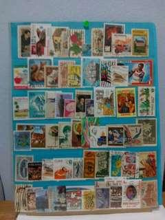 Worldwide Stamps 60pcs Set15