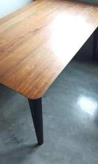 Scanteak Dining/Craft table (round corners)