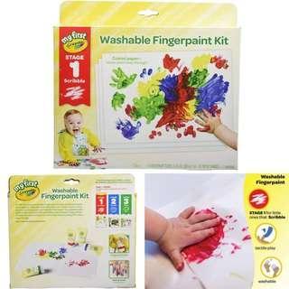BNIB: Crayola My First Fingerpaint for Toddler
