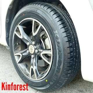 Tyre- Kinforest. Toyota Sienta 🙋♂️ It's not a actual price