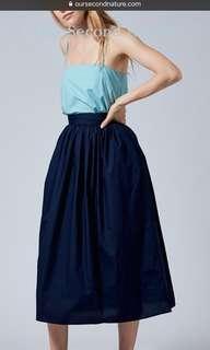 🚚 OSN Cotton Gathered Skirt