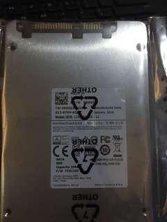 Dell SSD 256GB Hard drive