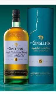 Singleton of Glen Ord 15Years Old Single Malt Scotch Whisky 威士忌
