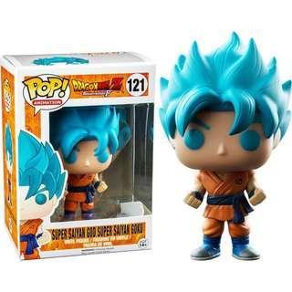 Pre order Super saiyan god super saiyan Goku