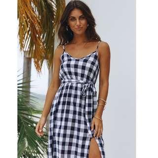 La Zorra Check Dress