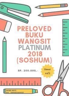 Buku wangsit platinum 2018 (soshum)