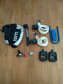 Bike Accessories 9 items