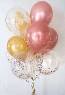 Helium Balloons (Pineapple)