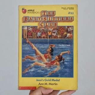 Children's Book: Jessi's Gold Medal by Ann M. Martin (Buku Anak)