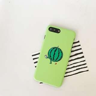[INSTOCK] Iphone 7/8 Watermelon Light Green Case