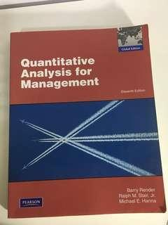 Temasek Polytechnic Quantitative analysis for management