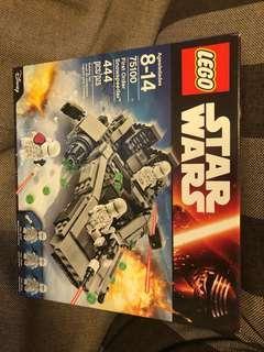 New MISB 未開盒 75100 Star Wars snowspeeder