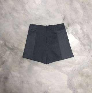 temt | classic office shorts in slate grey
