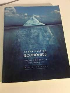 Temasek Polytechnic Essentials of Economics by Bradley R.Schiller with Cynthia Hill (ninth edition)