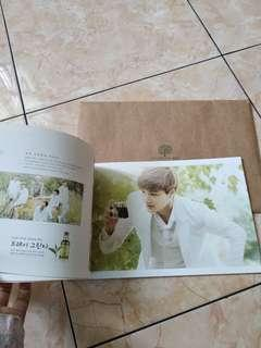 Official Exo Standee Nature Republic