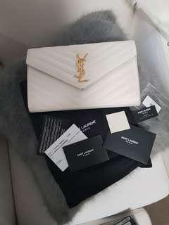 Authentic YSL chevron Lon WOC