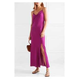 🚚 Theory Silk-Georgette Evening Gown S