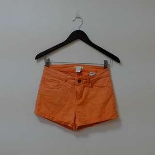 H&M Peachy orange shorts
