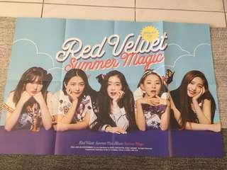 Red Velvet Summer Magic Official Poster