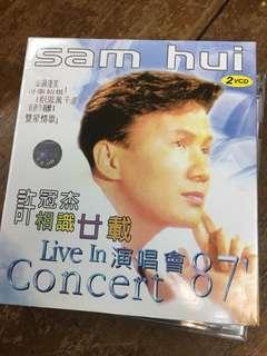 Sam hui concert vcd