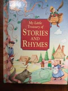 My Letter Treasury of Stories and Rhymes