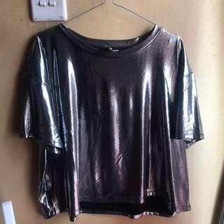 SILVER T-SHIRT BY H&M