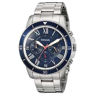 Fossil Men's FS5238 Grant Sport Chronograph Stainless Steel Watch
