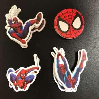 New 12pcs EVA sponge foam spiderman cupcakes topper decorations cake birthday spidermen heroes