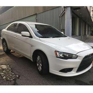正2010年 Mitsubishi Lancer Fortis 1.8競速版23.8萬非自售 一手車貸款找錢 全額貸款