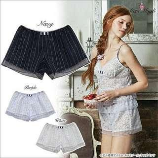 Lace sleep wear