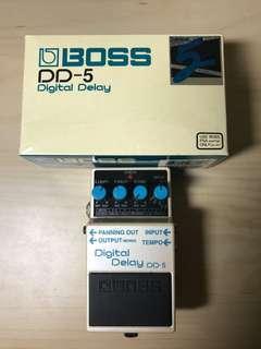 Boss DD5