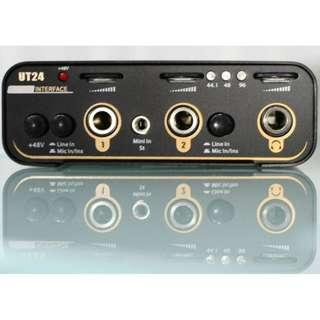 Toneweal UT24 USB Audio Interface
