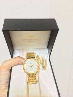 Raymond weil 18k gold watches