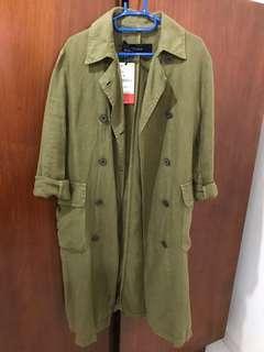 Zara Outer / Trench Coat Linen