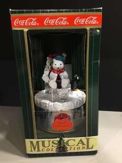 "Coca-Cola 音樂盒 Musical Collection Music Box ""Polar Bears & Penguin"""