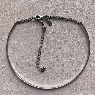 Thin elegant silver choker ❤️