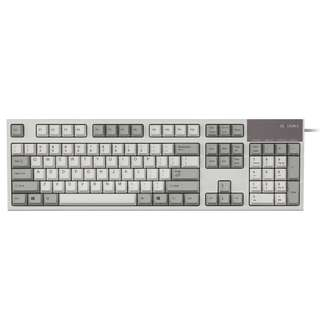 0b574867af4 Realforce R2 - Ivory (White/Grey) , 55g, Silent Topre Full Size