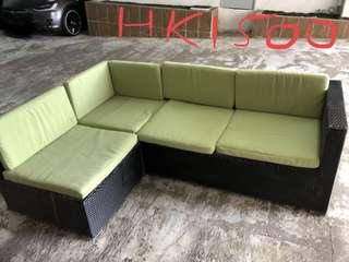 Garden patio outdoor sofa seat chairs