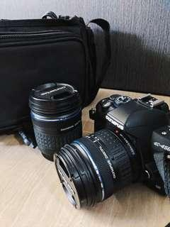 Olympus DSLR with 2 Lens
