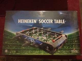 heineken soccer table