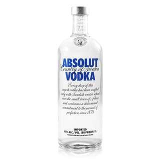 Absolute Vodka 1L