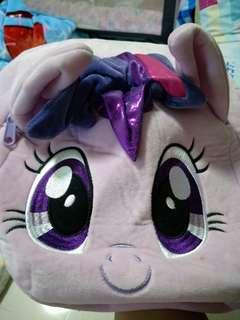 Clear fast! Preloved pony backpack