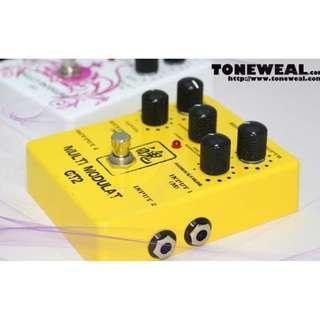 Toneweal guitar effect pedal GT2 - Multi Modulate