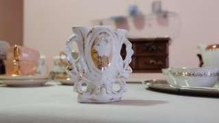 復古陶瓷花瓶 Vintage Ceramic Church Vase