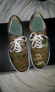 SOPHNET.  CAMOUFLAGE SNEAKERS