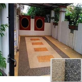 Carpark Flooring (alternative to pebble wash)