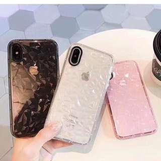 3D Diamond Soft Phone Case
